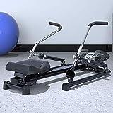 NXX Fitnessgerät Ruderzugmaschine Heimtrainer,Mit LCD...