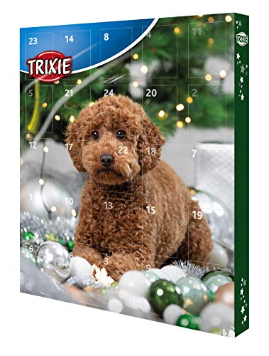 Trixie 9268 TRIXIE Adventskalender für Hunde, 30 × 34 ×...