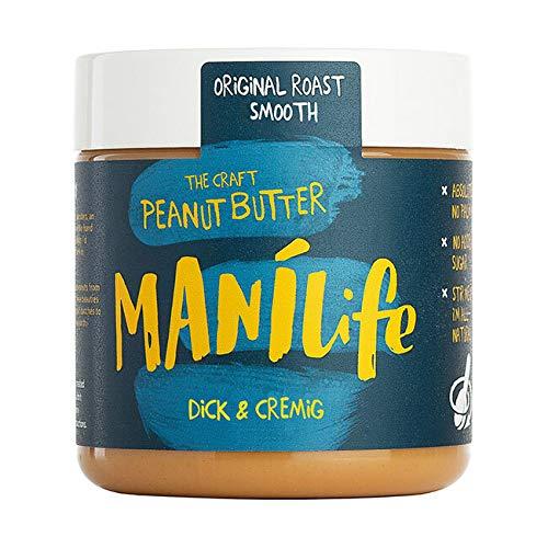 ManiLife - Original Roast Smooth Peanut Butter - Cremige Erdnussbutter - 295g