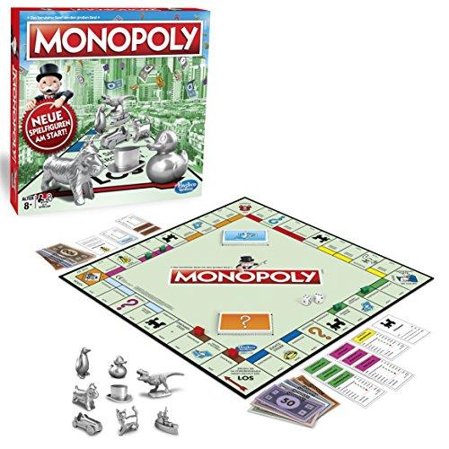 Monopoly Classic, Gesellschaftsspiel für Erwachsene &...