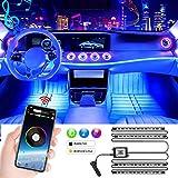 LED Innenbeleuchtung Auto, Mture 4pcs 48 LED Auto...