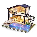 USMEI DIY. Miniatyr dukkehus -sett, periode leilighet med ...