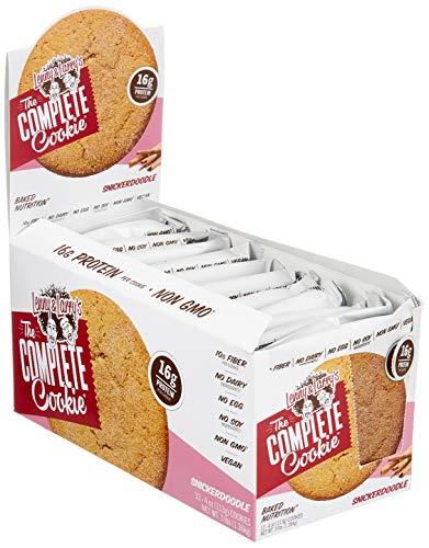 Протеиновый протеиновый бисквитный протеин для печенья Lenny & Larry's - Snickerdoodle - Коричное печенье 12x113 г