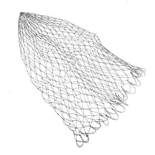 Tragbare Nylon Faltbar Fischerei Kescher Fischernetz Angeln Kescher