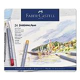 Faber-Castell 114624 Aquarellstifte Goldfaber, 24er...