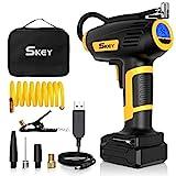 Воздушный насос аккумулятора SKEY, автомобильный воздушный насос 150 PSI, аккумулятор 40-60 л / мин ...