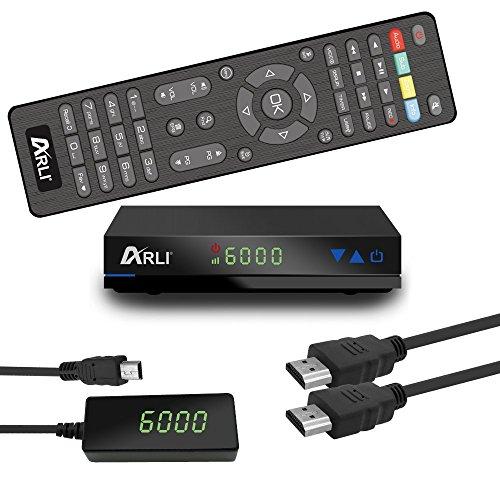 HD Sat Receiver ARLI AH1 vorprogrammiert Kanalliste Astra Hotbird Türksat...