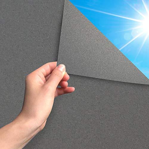 MARAPON ® Sichtschutzfolie Fenster in Anthrazit [45x200 cm] inkl. eBook mit...