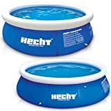 Large HECHT Quick Up Pool family pool - 360 x 90 cm and 300 x 76 cm to choose from - Inflatable ...
