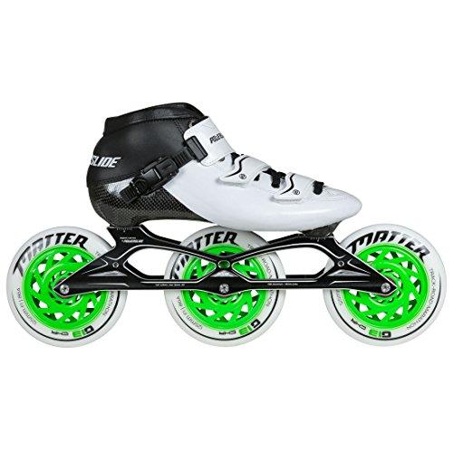 Powerslide Samurai Speedskate Inline Skate, Weiß, 40