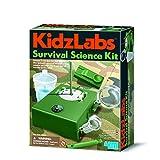 4M 00-03395 KidzLabs-Survival Science Toy, flerfarget
