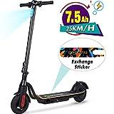 M MEGAWHEELS S10 Elektroroller, 250W-Hochleistungs-Smart-E-Scooter, 12-Meilen-Langstreckenbatterie, maximalen Gewicht von 265 Pfund für erwachsene...