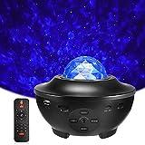 Delicacy LED Sternenlicht Projektor, Rotierende Wasserwellen...