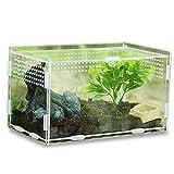 Keweni Insect Feeding Box, Acryl-Terrarium-Behälter für...