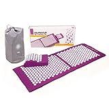 Набор для акупрессуры VITAL XL (баклажан): коврик для акупрессуры (130 x ...