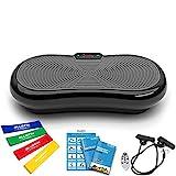 Bluefin Fitness Ultra Slim Power Vibrationsplatte | Fett...