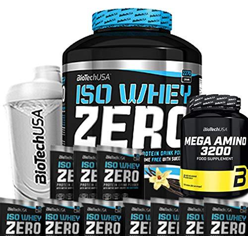 Biotech USA Iso Whey Zero (1 x 2.27 kg) + Shaker + 5...