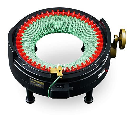 Addi Express-Kingsize 46 Nadeln Strickmaschine, Kunststoff, Schwarz/Rot/Gold, 26...