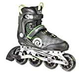 HUDORA Inline Skates RX-90, Gr. 36, for teens and adults, black / green