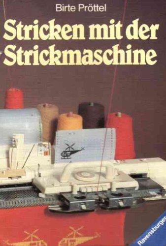 Stricken mit der Strickmaschine