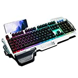 RedThunder K900 Halbmechanisch Gaming Tastatur [Version 2020], QWERTZ DEUTSCH...
