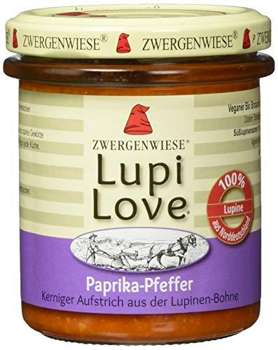 Zwergenwiese LupiLove Paprika-Pfeffer, 6er Pack (6 x 165 g)