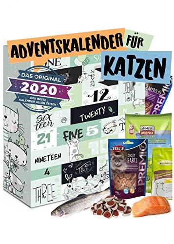 Katzen Adventskalender 2020 I Adventskalender für Katzen...