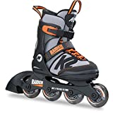 K2 Inline Skates RAIDER For Boys With K2 Softboot, Black - Gray - Orange, 30B0201