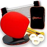SmashSpin - Комплект ракеток для настольного тенниса Premium - настольный теннис ...