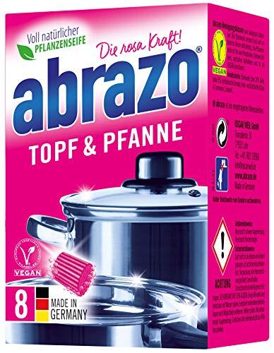 abrazo Topf & Pfanne Reinigungskissen antibakteriell Reinigungs-Schwamm...