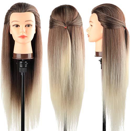 Trainingsköpfe 100% von dem Hochtemperaturfaser Haar Hairdressing Cosmetology...