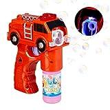 Relaxdays 10024935 LED zeepbellengeweer brandweer, ...