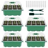Your's Bath - Caja de cultivo para invernadero de interior de 5 piezas, ...