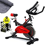 SPORTSTECH profesjonell treningssykkel med svinghjul på 13 kg og stille ...