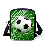 3D Printing Football Student Handbag Children Messenger Bag Shoulder Bag Backpack Children Small Bag ...