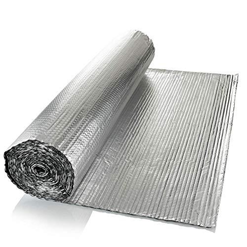 SuperFOIL Isolierfolie (1 m x 7 m) – 4 mm, doppelschichtiger Hitze-Reflektor für Wände, Böden, Dächer, Wohnmobil und Wohnwagen, 1 Rolle...