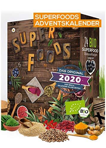 BIO Superfood Adventskalender 2020 I gesund durch die...