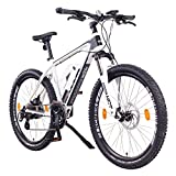NCM Praag, e-bike mountainbike 36V 13Ah 468Wh, 26 ', wit
