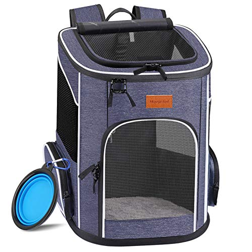 morpilot Hunderucksack, Katzenrucksack für Katzen und Hunde Welpen,...