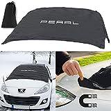 Крышка лобового стекла PEARL: Плотно прилегающая ветровая пленка anti-ICE с магнитной фиксацией (защита лобового стекла автомобиля)