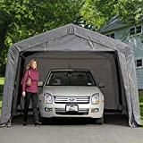 ShelterLogic Foliengarage Garage in-a-Box, 18,13m² grau //...