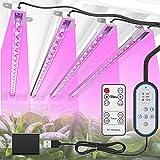 TENROOP Pflanzenlampe LED, 144 LEDs Pflanzenlicht...