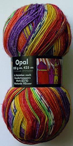 Opal 9812 Jazz ~ Cool Sonido ~ 4 Capas Lana Para Calcetines X 100g patrón gratis