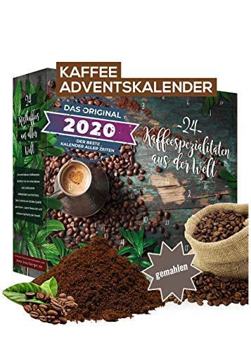 Adventskalender 2020 Kaffee gemahlene Bohnen I Kaffee...