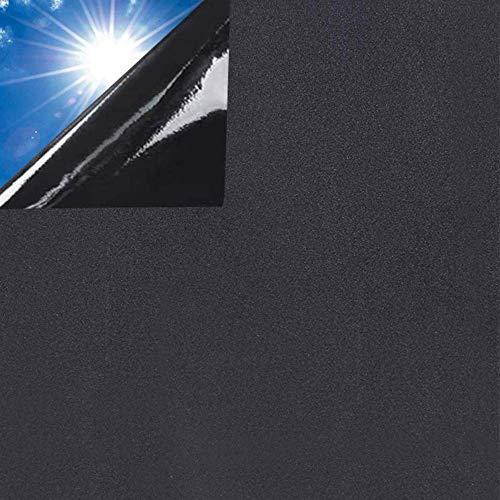 Rwest X Fensterfolie Selbsthaftend Blickdicht Sichtschutzfolie Fenster Milchglasfolie Statische Fensterfolien Anti-UV Folie Für Zuhause Badzimmer...