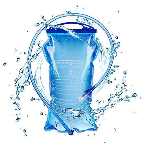 TRIWONDER 1.5-2-3L BPA Free Trinkblase Wasserreservoir für Radfahren Wandern...