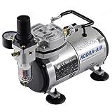 Agora-Tec® Airbrush Compressor AT-AC-02, Compressor voor ...