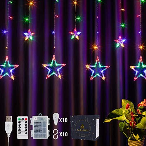 DazSpirit LED Lichtervorhang...