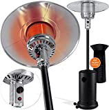KESSER® radiant heater gas patio heater for terrace patio heater, 14kW gas heater, radiant heater, ...