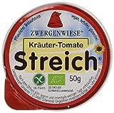 Zwergenwiese Kräuter-Tomate 50 g Bio Brotaufstrich...